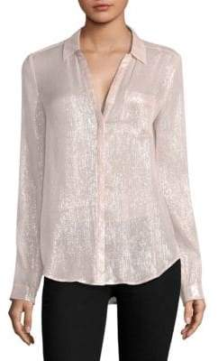 Paige Everleigh Metallic Top