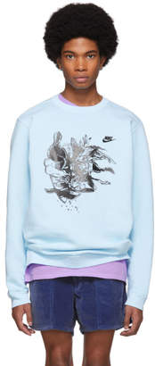 Nike ERL Blue Edition Witch 4 Sweatshirt