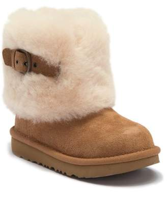 UGG Ellee II Genuine Shearling & UGGpureTM Boot (Toddler, Little Kid, & Big Kid)
