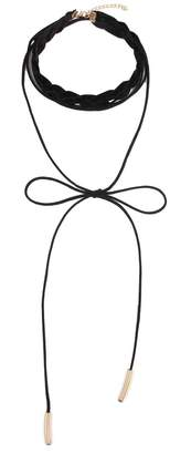 Riah Fashion Braided Layered Choker