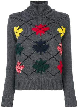 DSQUARED2 turtle neck jumper