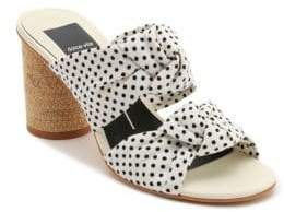 Dolce Vita Jene Slip-On Polka Dot Sandals