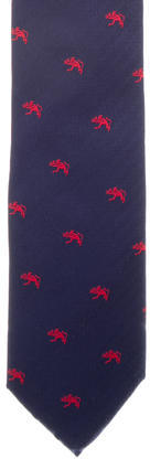 Alfred DunhillDunhill Embroidered Silk Tie