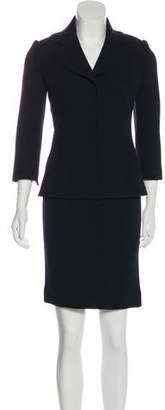Dolce & Gabbana Virgin Wool Skirt Suit
