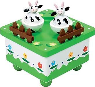 Ulysse Cow Music Box (Green)