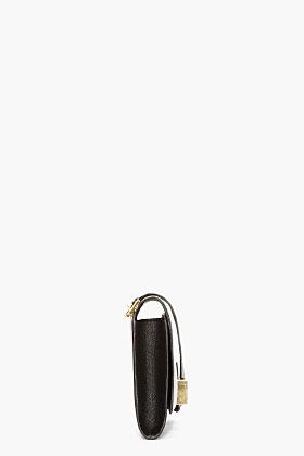 Chloé Black leather Robbie Clutch