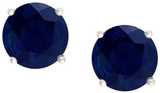 Premier 1.00 cttw Sapphire Stud Earrings, 14K G old