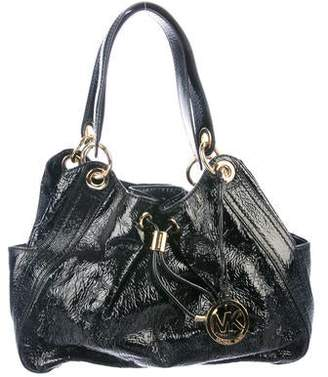 be6a34bef061 MICHAEL Michael Kors Patent Leather Drawstring Hobo