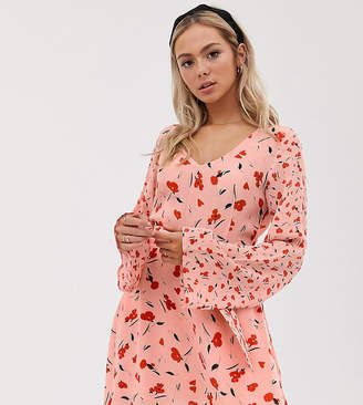 Lily & Lionel Exclusive micro mini dress in floral print