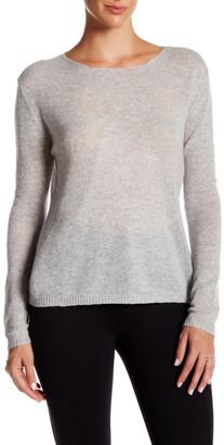Kier & J Crew Neck Cashmere Sweater $170 thestylecure.com