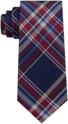 Club Room Men's Bold Plaid Silk Tie, Created for Macy's