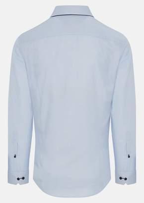 TAROCASH Sky Emilio Textured Shirt