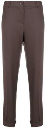 Fabiana Filippi cropped fitted trousers