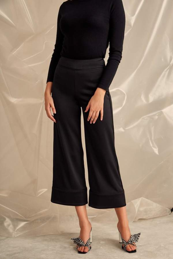COLLECTIVE Silk Suit Pant