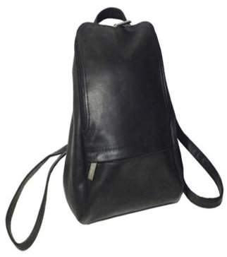 "Royce Leather Vaquetta Colombian Leather 10"" Adjustable Backpack"