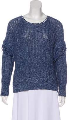 Ulla Johnson Knit Fringe-Accented Sweater