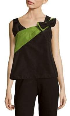 Prada Faille Sleeveless Silk Top