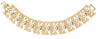 Susan Caplan Vintage 1970s Vintage Sarah Coventry Statement Bracelet With Faux Pearls