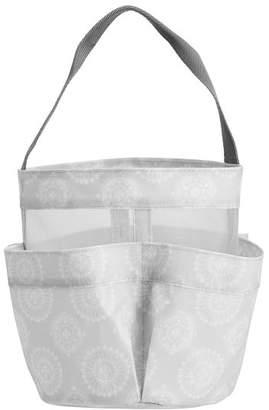 Pottery Barn Teen Shower Mesh Caddy, Sunburst St, Gray