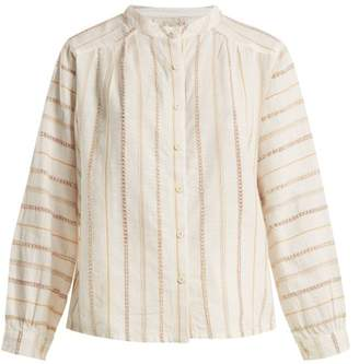 Ace&Jig Barrett Striped Top - Womens - White Stripe