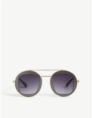 Gucci GG0105s pilot-frame sunglasses