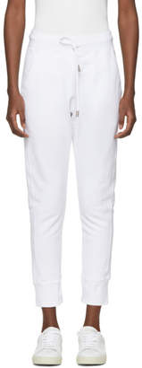 DSQUARED2 White Logo Classic Lounge Pants