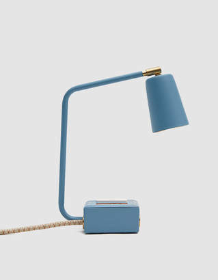Jax Conway Electric Smart USB Touch Lamp in Blue