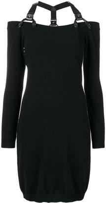 Moschino shoulder strap mini dress