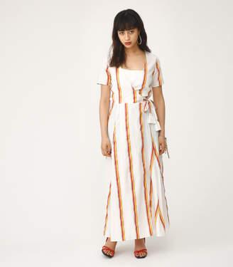 SLY (スライ) - Multi Stripe Cache Coeur Gown