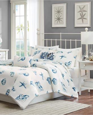 Jla Home Harbor House Beach House 2-Pc. Twin Reversible Duvet Cover Set Bedding