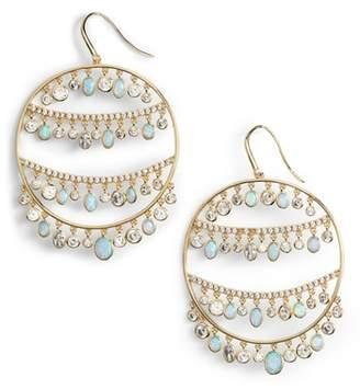 Melinda Maria Fox Hoop Earrings