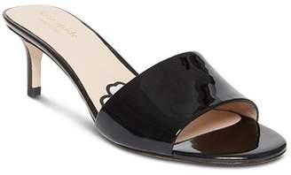 Kate Spade Women's Savvi Kitten Heel Slide Sandals