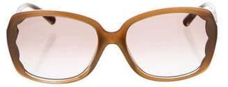 Valentino Tinted Lens Sunglasses