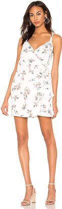 1 STATE Floral Belle Wrap Front Dress