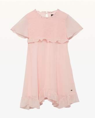 Juicy Couture Smocked Georgette Dress for Girls