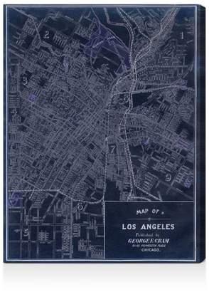 "Oliver Gal Los Angeles 1899 Wall Art, 18"" x 24"""