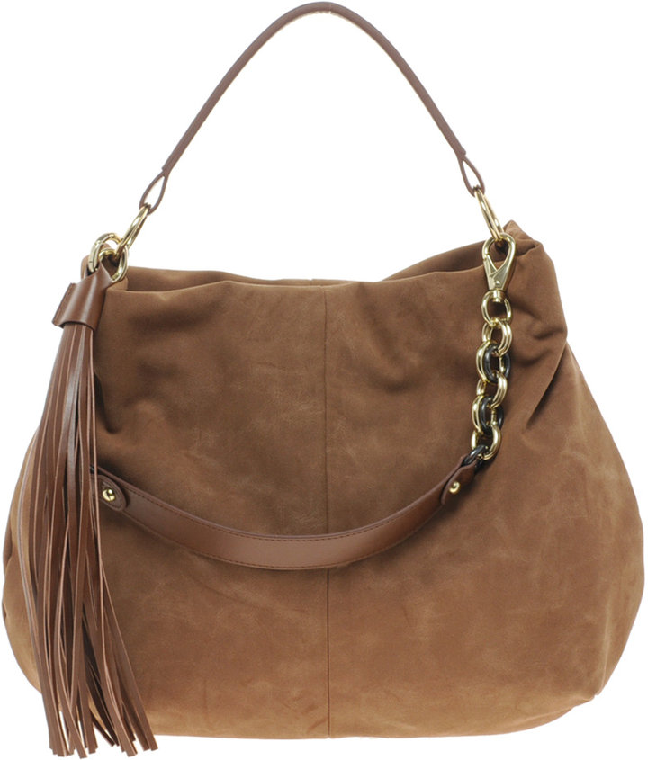 River Island Chain Tassel Slouch Bag