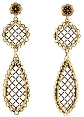 Philip Crangi 14K Lace Earrings