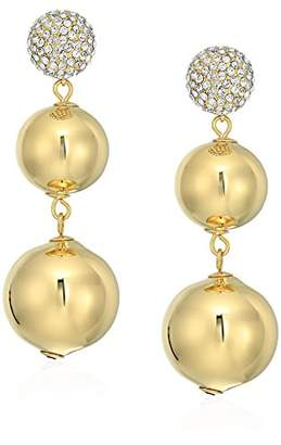 Kate Spade Flying Colors Pave Bauble Earrings