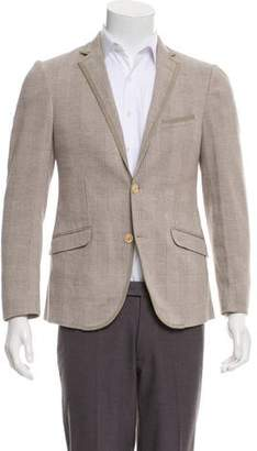 Etro Checkered Two-Button Blazer