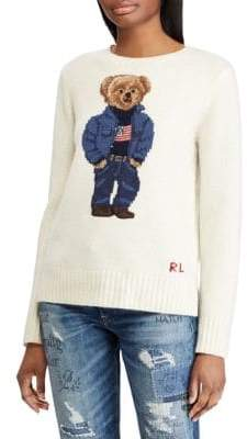 Polo Ralph Lauren Denim Bear Sweater