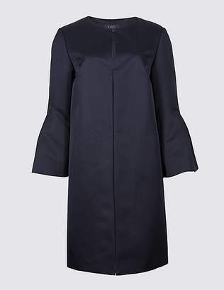 Marks and Spencer Bell Sleeve Coat