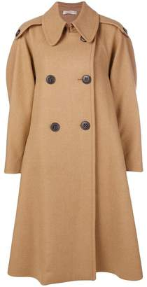 Mantu double breasted trench coat