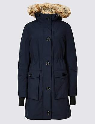 M&S Collection Padded Goose Down & Feather Parka