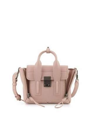3.1 Phillip Lim Pashli Mini Leather Satchel Bag, Petal $695 thestylecure.com