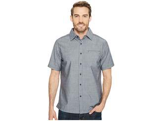 Smartwool Everyday Exploration Chambray Short Sleeve Shirt Men's Clothing