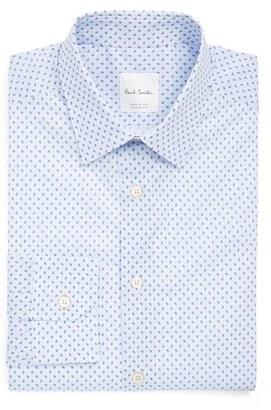 Men's Paul Smith London Extra Trim Fit Paisley Print Dress Shirt $275 thestylecure.com