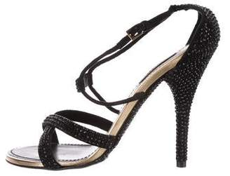 Louis Vuitton Strass-Embellished Sandals