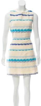 Alice + Olivia Woven Mini Dress