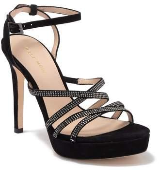 Pelle Moda Kid Suede Strappy Stiletto Heel Platform Sandal